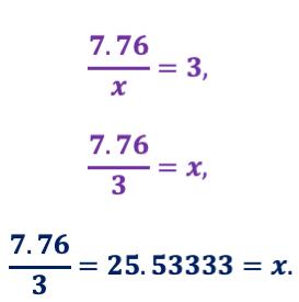 Aplicación de teoremas de semejanza de triángulos