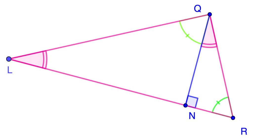 dos triángulos semejantes