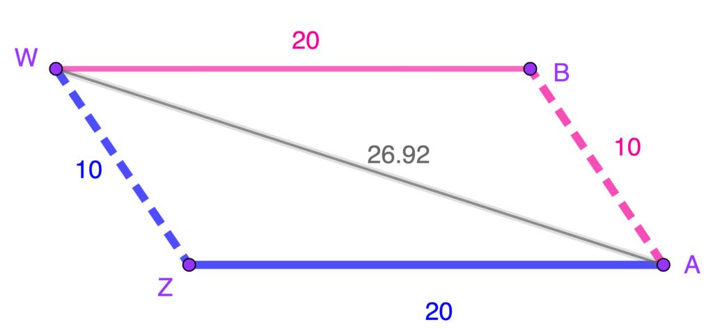 ejercicios resueltos criterio LLL congruencia triángulos