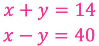 ejemplo de planteamiento de sistemas de ecuaciones