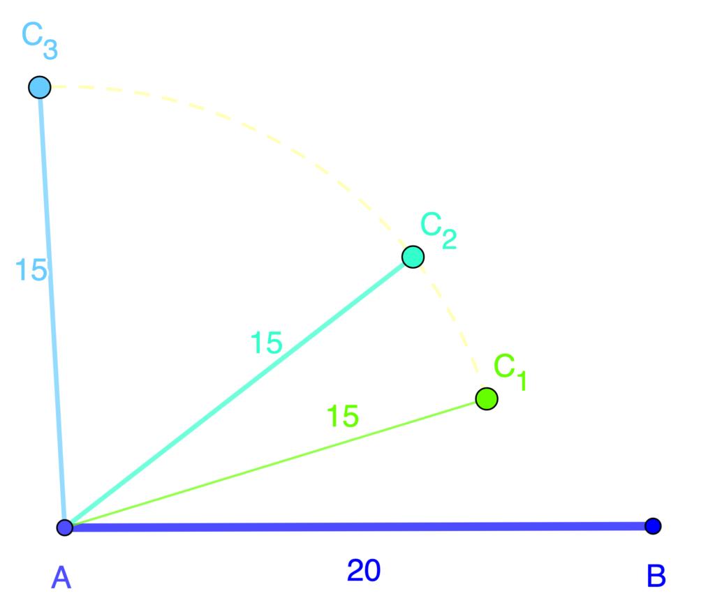 por qué es necesario el el criterio LLA para congruencia de triángulos