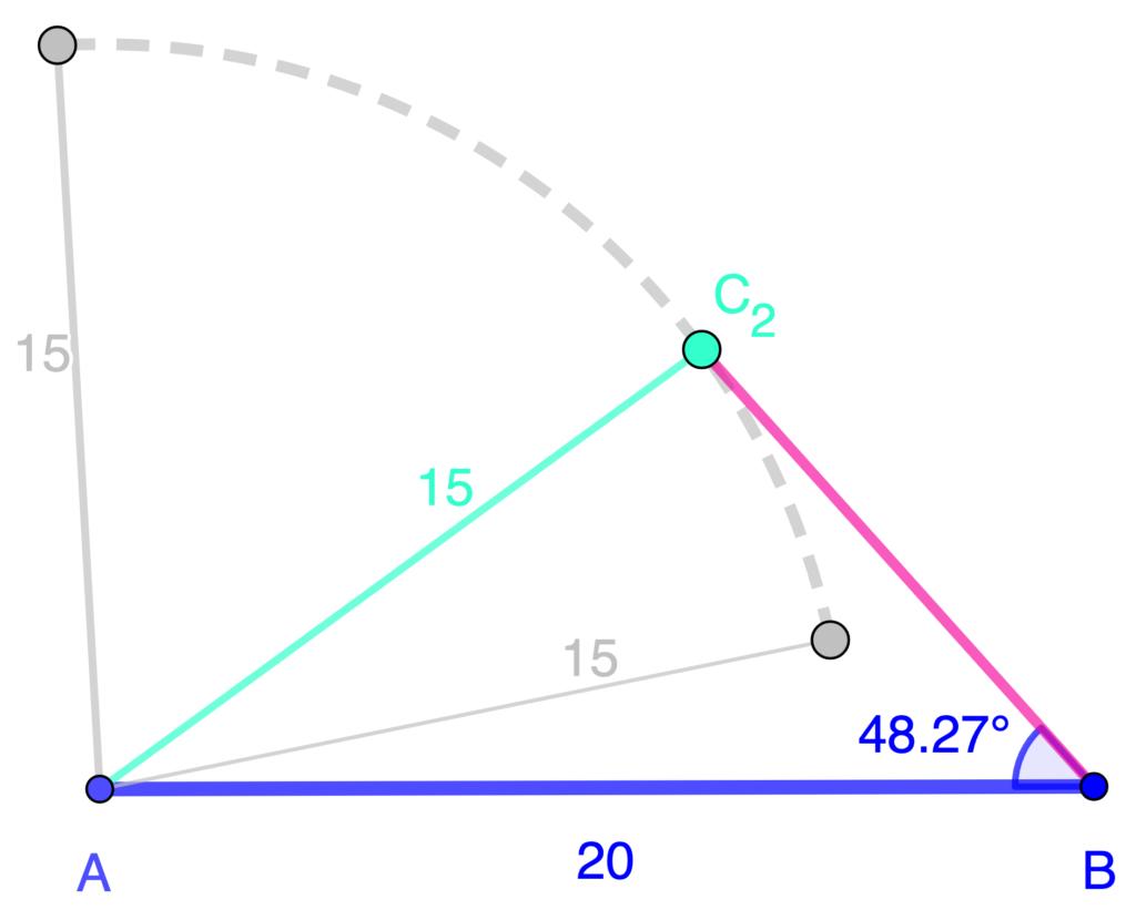 Un ángulo es necesario para el criterio LLA de triángulos