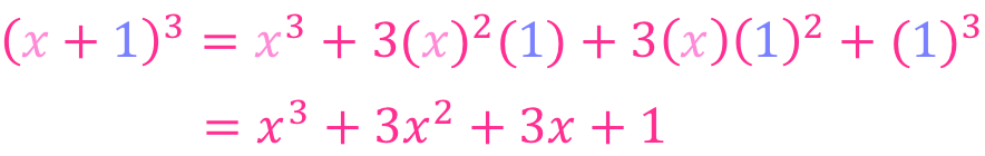 binomio al cubo ejemplos